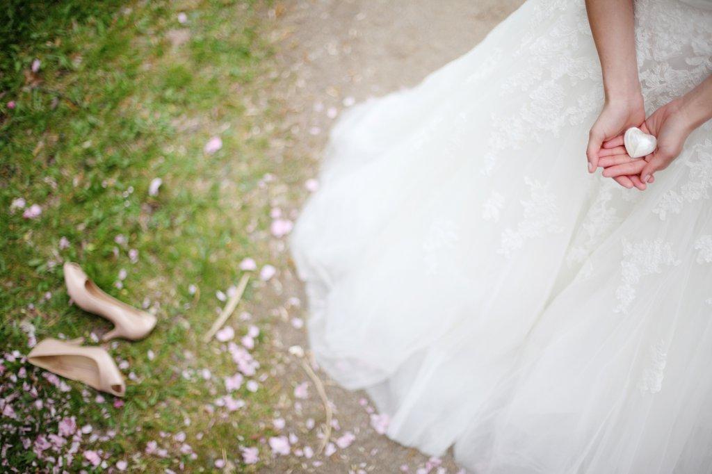 Photo Image eines Brautkleides