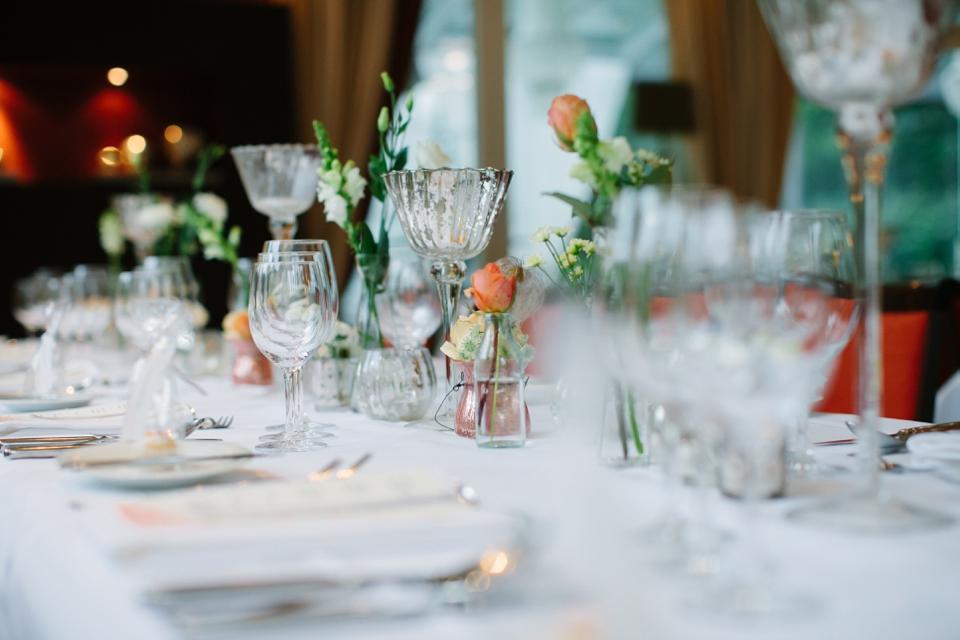 Photo Hochzeitstisch, dekoriert
