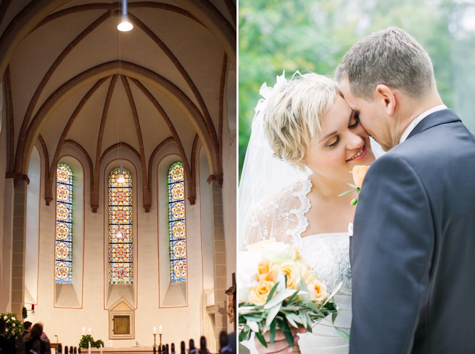 Photo Kirche von innen mit Dekor