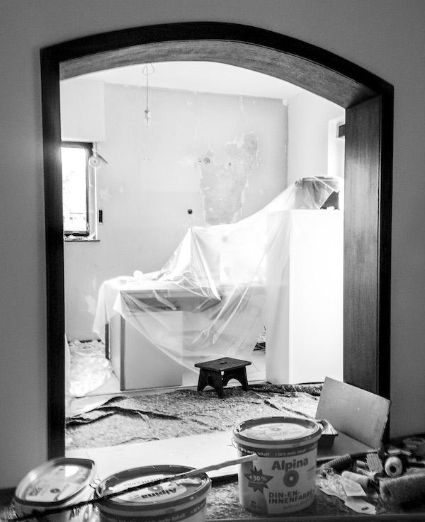 Renovierung des Weddingplaner-Büros